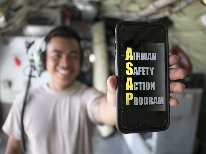 Airman Safety App empowers Airmen to submit instant reports
