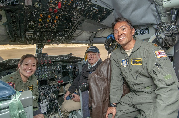 HIANG KC-135 conducts historic flyover