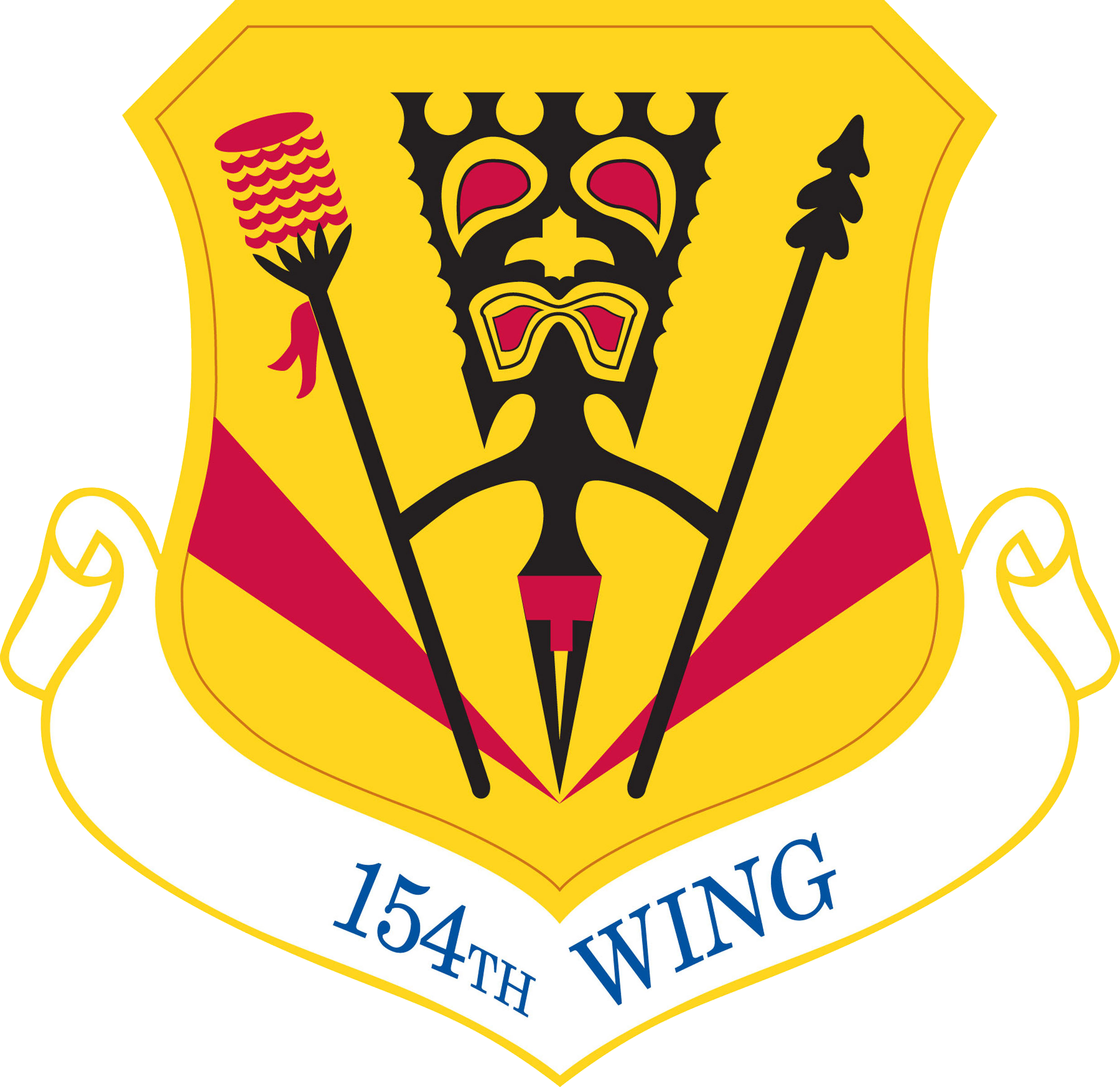 154th Wing Patch